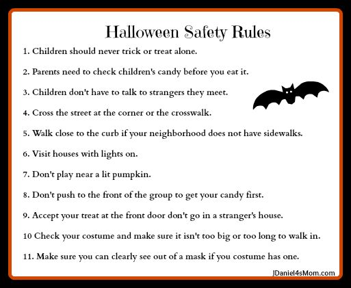 halloween safety rules these are so important to review with kids - Halloween Tips For Parents