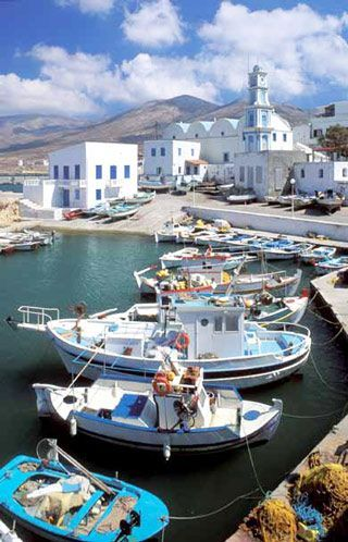 Greece Travel Inspiration - Port of Kassos island, Greece.                                                                                                                                                                                 More