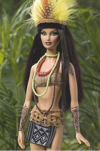 Amazon.com: Mattel Barbie Dolls of the World Amazonia Doll: Toys Games cool i wouldn't expect it. :)