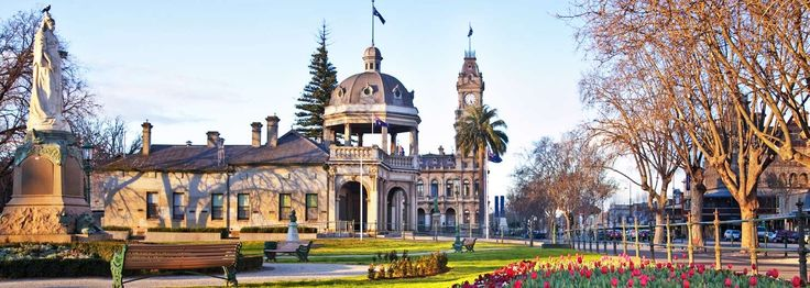 Bendigo: Part of your Sydney to Melbourne Touring road trip, highlighting places to stay, maps, attractions and itineraries