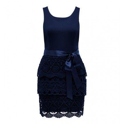 Brearne crochet skirt dress