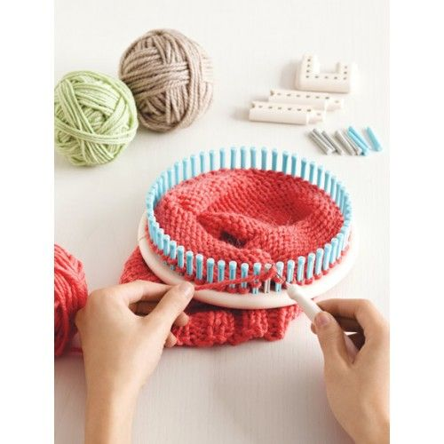 Red Heart Free Patterns Knitting : 1000+ images about martha stewart loom knitting on Pinterest
