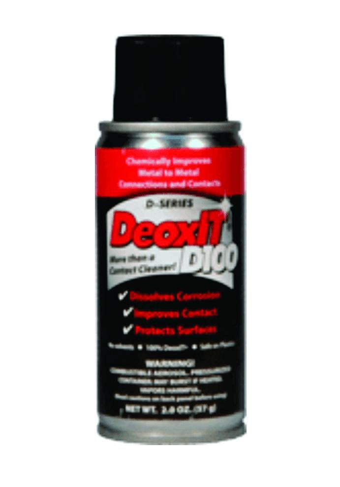 Deoxit D Series Spray 100 Solution 57g Active Ingredient The 100