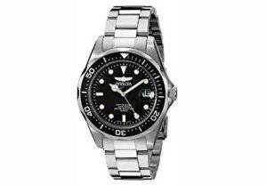 3. Invicta Men's 8932 Pro Diver Collection Silver-Tone Watch