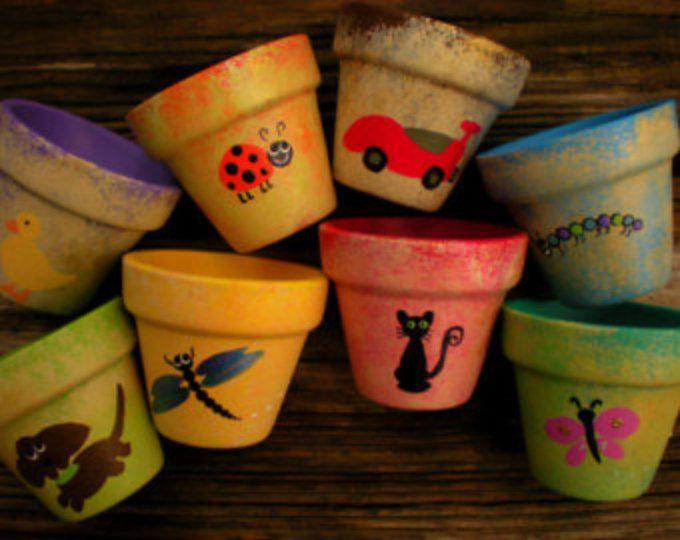 Best 25 Small Flower Pots Ideas On Pinterest Front Door