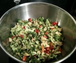 Thermomix raw veg salad