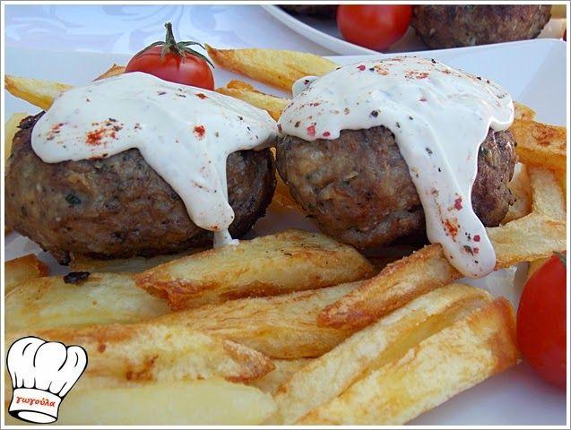 ΠΕΝΤΑΝΟΣΤΙΜΑ ΜΠΙΦΤΕΚΙΑ ΜΕ ΧΟΙΡΙΝΟ ΚΑΙ ΠΡΟΒΕΙΟ ΚΙΜΑ!!!   Νόστιμες Συνταγές της Γωγώς