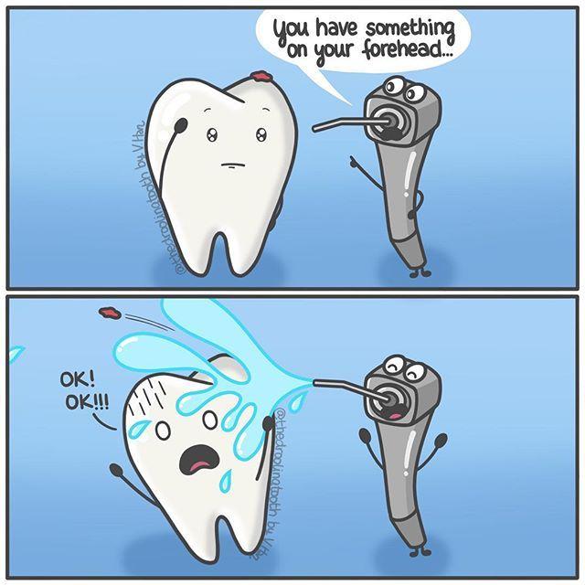 Прикольные картинки о зубной боли