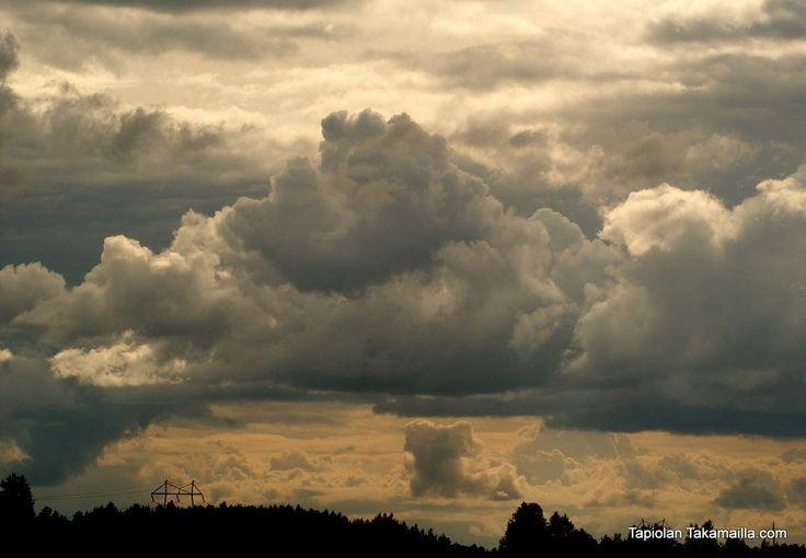 Clouds...  sepelkyyhkyjahdin avaus 2013