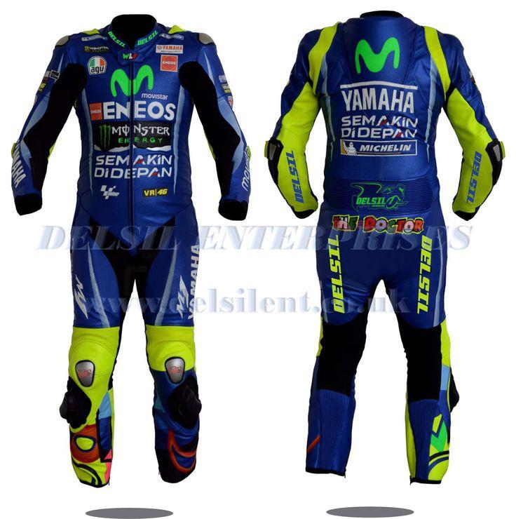 Valentino Rossi VR46 motorbike leather racing suit 2017. #delsilent #DELSIL #valentinorossi #valentinorossi46 #valentinorossifans #vr46 #motorbikesuits #motorbikes #leather #leatherjacket #leatherracingsuits #motogp #menwear #motorbikeracing #cowhide #leathersuit #motogp2017 #racingwear #racinggear For more details visit www.delsilent.co.uk or inbox at delsilent2015@gmail.com or Whats app & Viber @ 0092-307-6111465