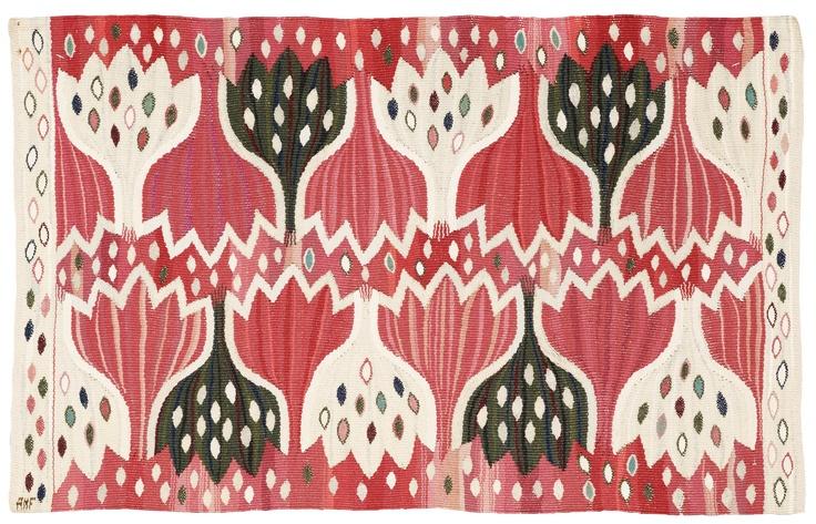 Tapestry designed by Märta Måås-Fjetterström, Ann-Mari Forsberg, 1945