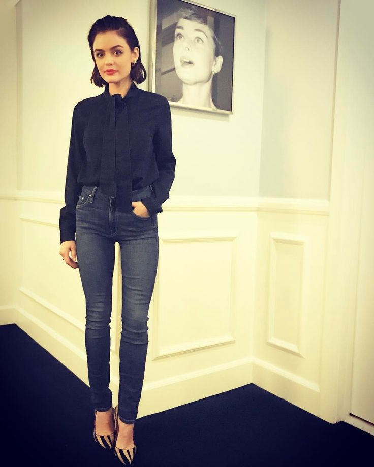 This photo proves that Lucy Hale should play Audrey Hepburn