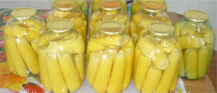 Лучшие кулинарные рецепты: Кукуруза маринованная