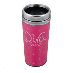 Copo Térmico Diva Rosa - Uatt?