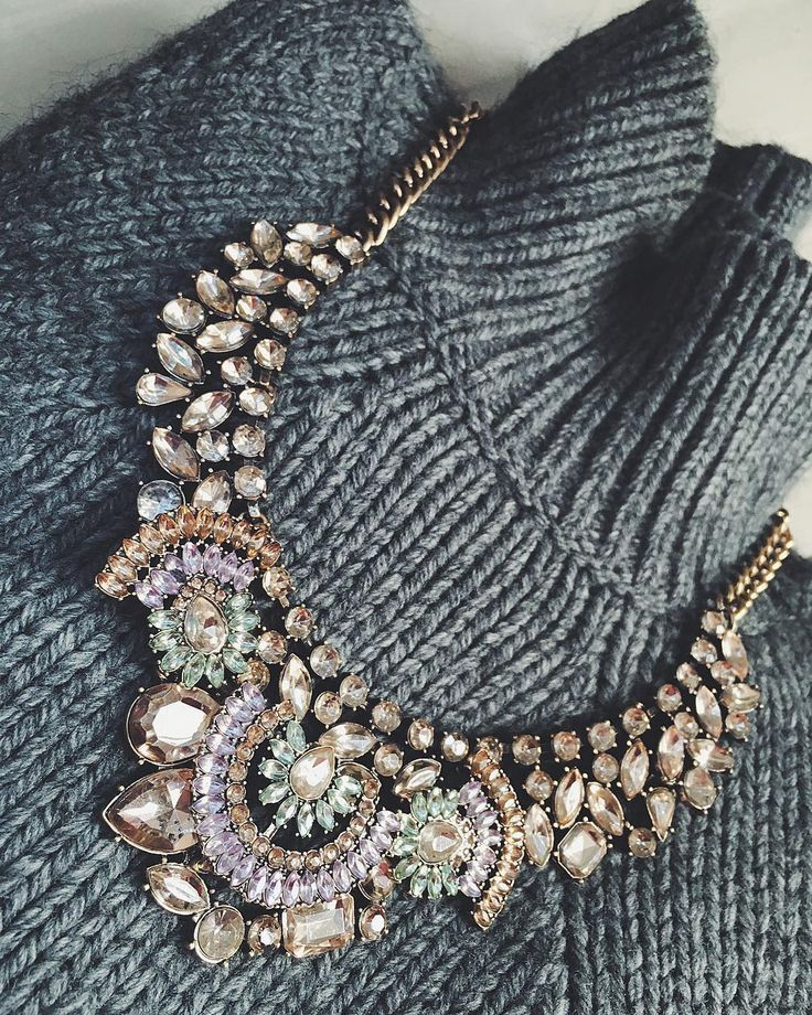 Vintage Treasure Statement Necklace