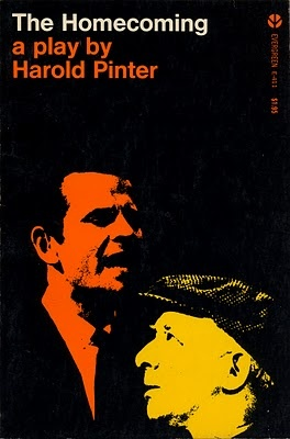 The Homecoming by Harold Pinter. 1967. Cover by Roy Kuhlman.