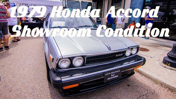Honda Accord LX CVCC 1979 in SHOWROOM CONDITION!  Cruisin' the Coast 2017