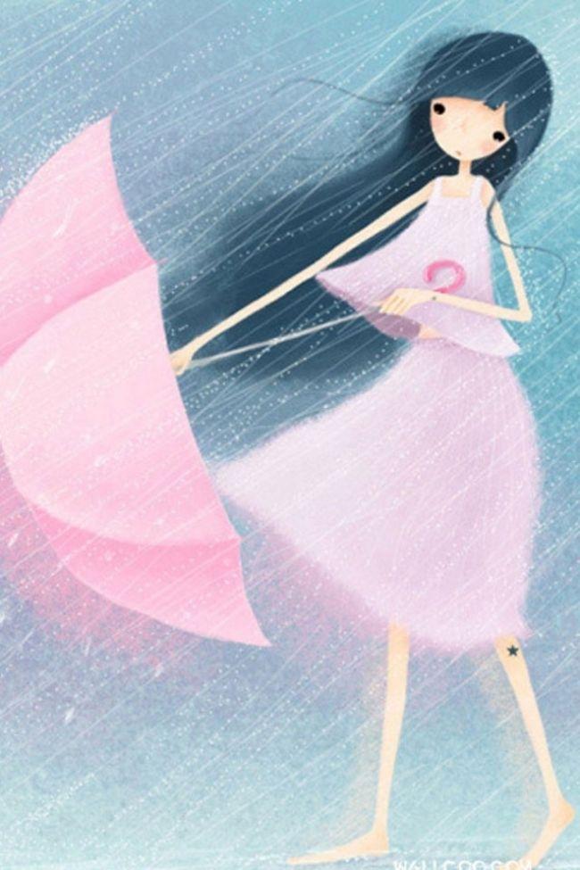 umbrellas.quenalbertini: My pink umbrella
