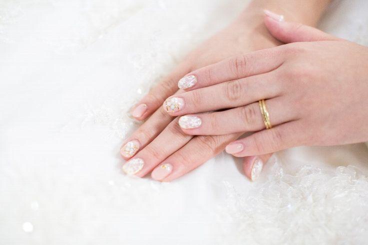 #新婦ネイル#wedding#nail