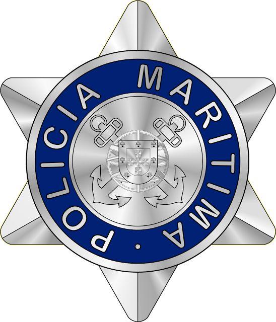 Crachá da Polícia Marítima