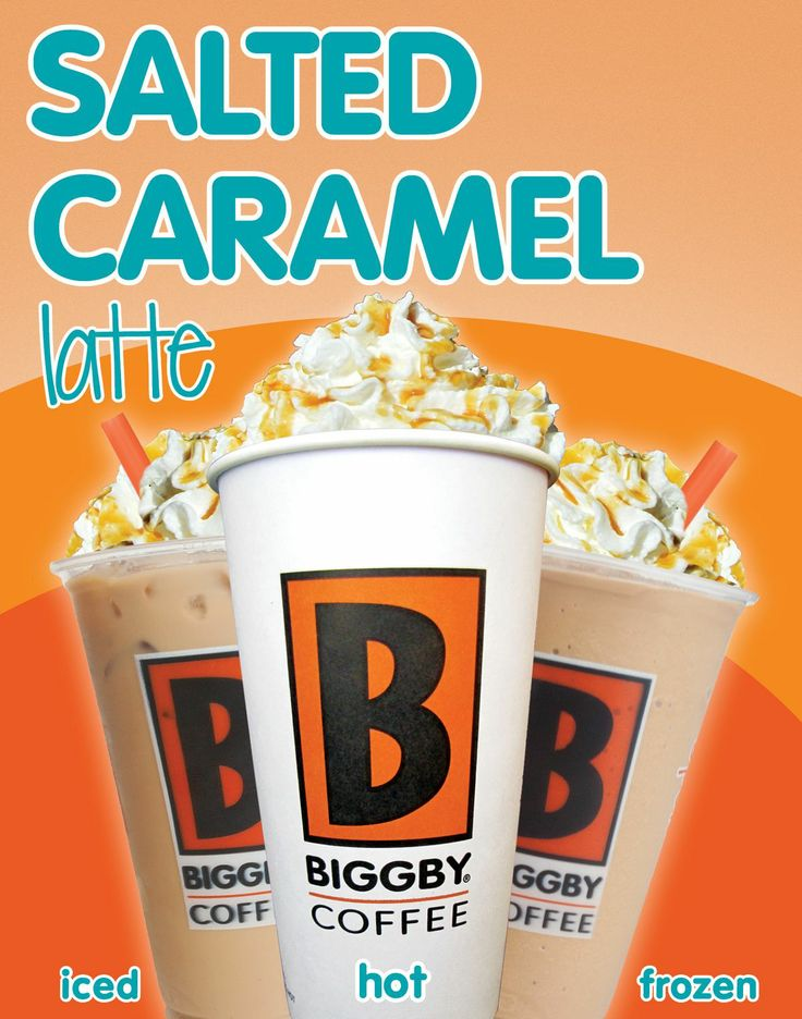 Biggby S Coffee Frozen Caramel Drinks