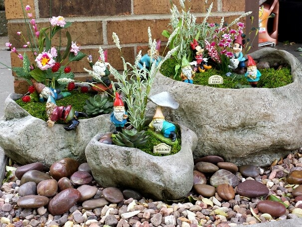 my gnome garden super cute