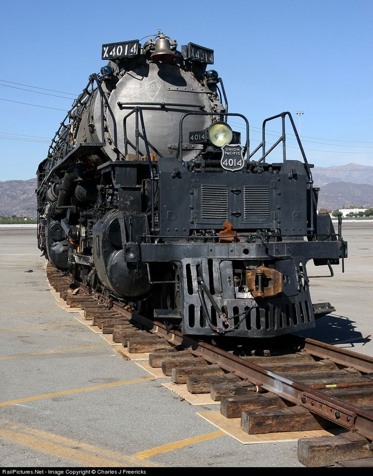 RailPictures.Net Photo: UP 4014 Union Pacific Steam 4-8-8-4 at Pomona, California by Charles J Freericks