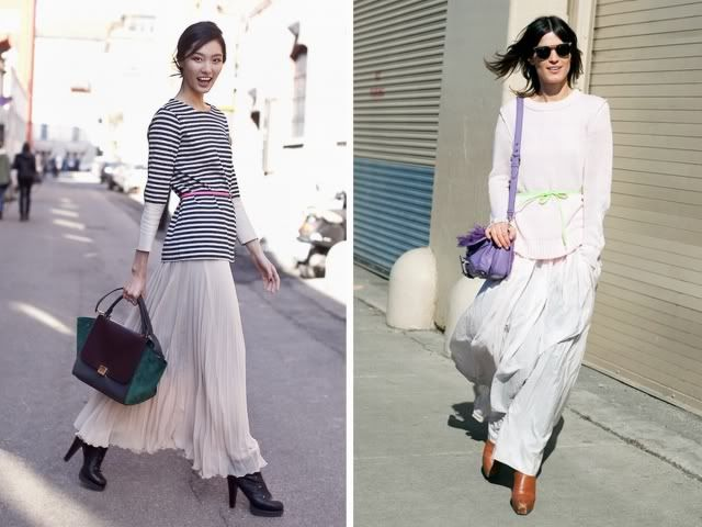WEARING MAXI SKIRTS   My Daily Style en stylelovely.com