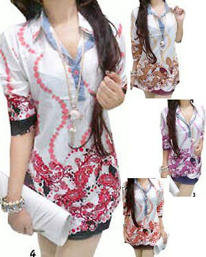 casual-shirt batik..