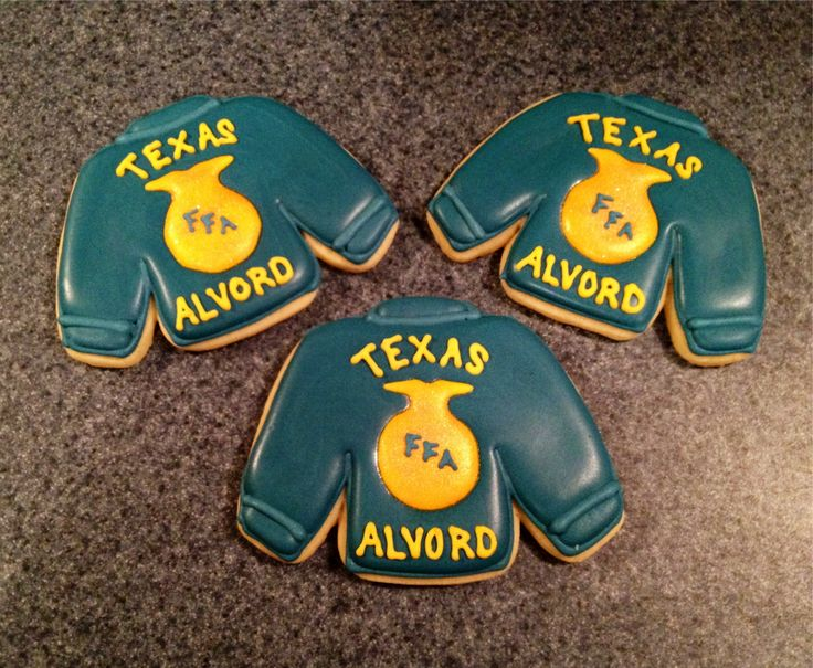 Sugar Cookies Decorated For National Ffa Week Sweet