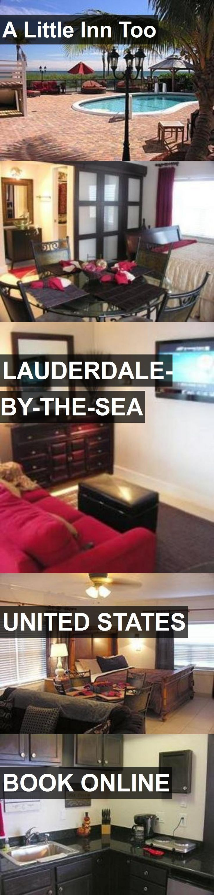 Hotel A Little Inn Too in Lauderdale-By-The-Sea, United States. For more information, photos, reviews and best prices please follow the link. #UnitedStates #Lauderdale-By-The-Sea #ALittleInnToo #hotel #travel #vacation