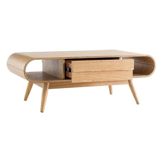 Table Basse Scandinave Frene Baltik Table Basse Scandinave Table Basse Mobilier De Salon