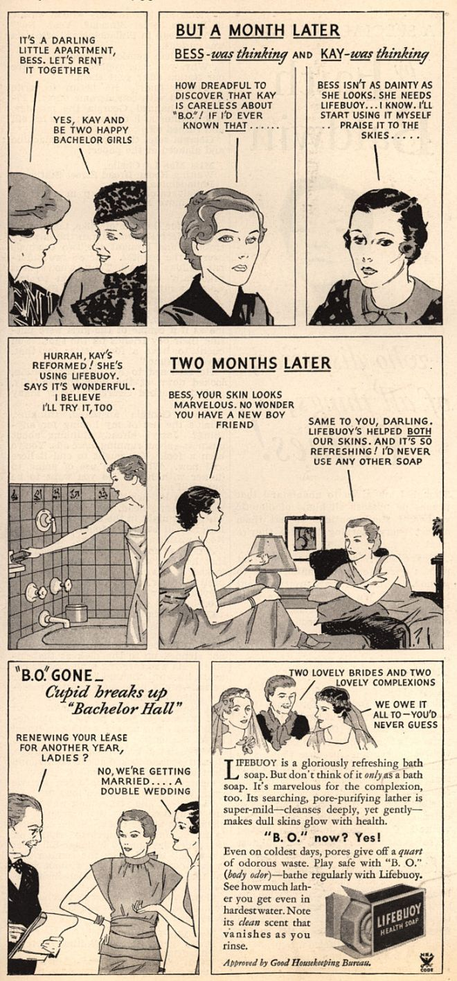 Lever Brothers Company's Lifebuoy Health Soap – It's a Darling Little Apartment, Bess. Let's Rent It Together (1935)