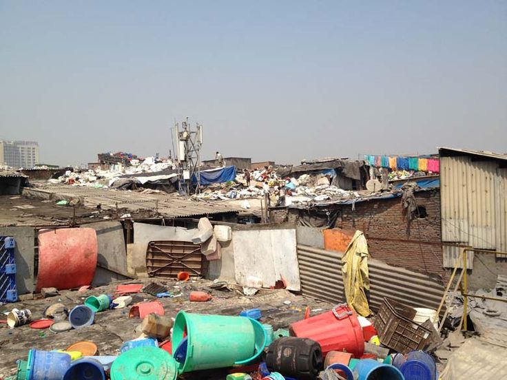 Roof tops of Dharavi | Belle Flaneur
