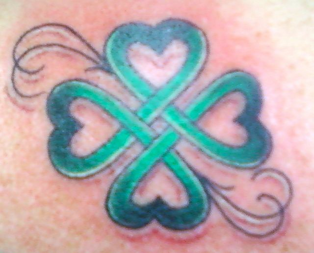 4 leaf clover sisters tattoo - Google Search