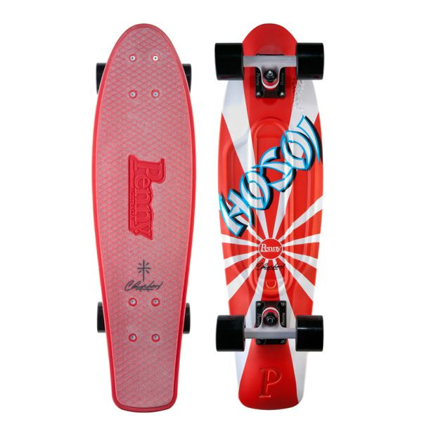 "Christian Hosoi x Penny Skateboards ""Nickel"" Signature Model Deck"