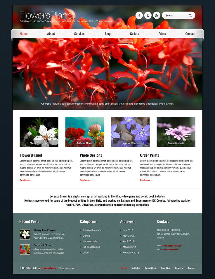Another great showcase example. You can see what you can achieve with BARCELONA WP Theme http://themeforest.net/item/barcelona-customizable-universal-wordpress-theme/2871448?sso?ref=ait