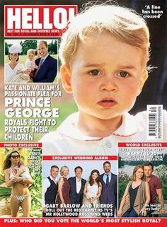Image result for hello uk magazine with prince george 2017