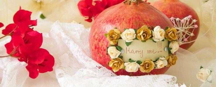 L'autunno continua a stupire e regalare dolci ispirazioni per le nozze di giovani sposi: la proposta è organizzare il tuo matrimonio con tema MELOGRANO