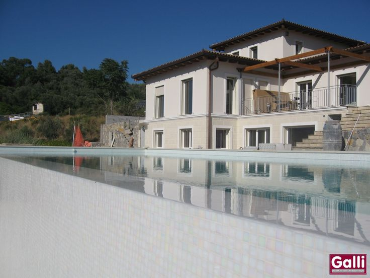 #Villa Privata #Serramenti in #PVC #Bordighera | www.gallisrl.eu