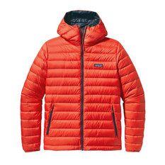 Patagonia - Down Sweater Hoody Rojo Hombre