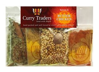 Buy Now. Curry Traders have perfected 14 curry kits including our AWARD WINNING Lamb Madras, Chicken Korma, Rogan Josh and our most popular favourite of many, Butter Chicken.