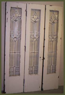 Vintage glass doors - something like this between living/dining room?