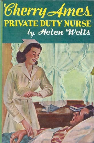 lot 6 vintage Cherry Ames nurse Helen Wells hardbacks