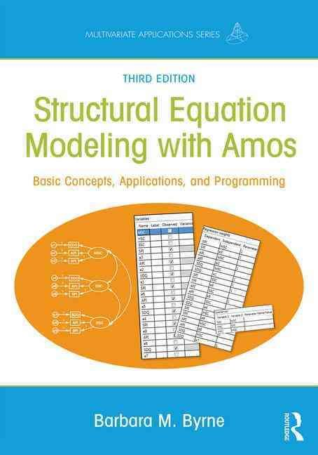 Best 25 structural equation modeling ideas on pinterest ap structural equation modeling with amos basic concepts applications and programming third edition multivariate applications series routledge fandeluxe Choice Image