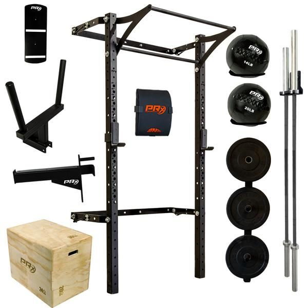 Swole Mates His Hers Profile Pro Package Complete Home Gym