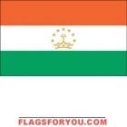 4' x 6' Tajikistan High Wind, US Made Flag