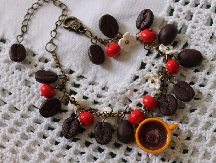 Jewelry Women Bracelet Coffee / Polymer Clay Handmade | Jewelry & Watches, Handcrafted, Artisan Jewelry, Bracelets | eBay!
