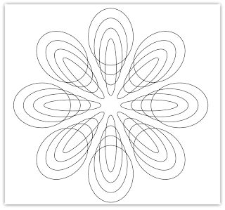 circles free hand embroidery pattern