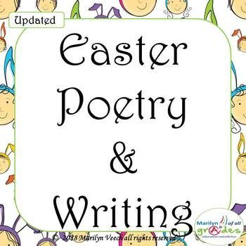 Updated - 11 new pages This is a poetry unit around the theme of Easter. I have worksheets for your students to complete to help them appreciate poetry writing. The exercises are easy and fun for the students but there are rules for writing that they need to appreciate and use.